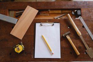 Kuva sijoitusasunnon remontin suunnittelusta